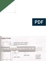 Angkup Vernier & Tolok Skru Mikrometer
