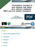 Detecting Spatioemporal Dynamics in Satellite Remote Sensing Time Series