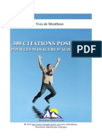 300 Citations Positives pour les managers