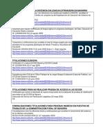 Normativas Titulaciones Certificaciones Convalidaciones de Idiomas
