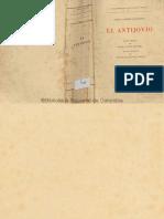 Gonzalo Jiménez de Quesada - El Antiojivo Parte 1