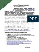 Regulament Laborator BD_2012-2013