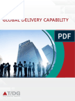 The Digital Group's Global Delivery Capability through customized solutions