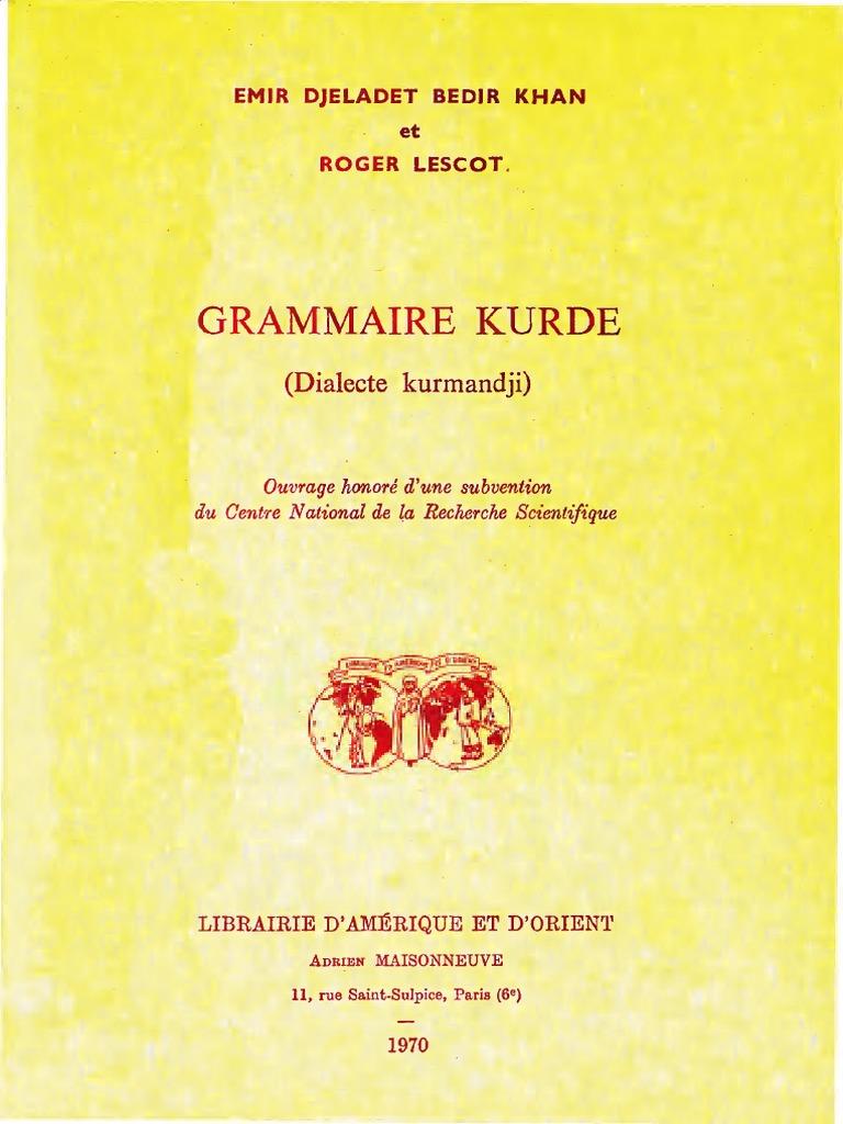 Kurde Kurde Kurde Kurdedialecte Kurdedialecte Grammaire Grammaire Grammaire Kurde Kurdedialecte Grammaire bgYf76y