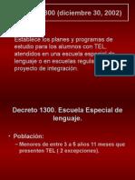 Rol Del Fonoaudiologo Ley 1300