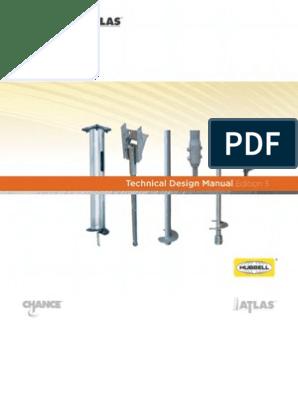 CHANCE® Technical Design Manual_Edition 3 | Deep Foundation