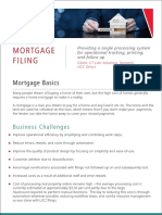 Mortgage Filing