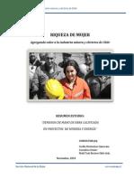 Riqueza de Mujer Agregando Valor a La Industria Minera y Eléctrica de Chile