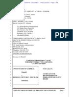 U.S. SBA complaint against Red Rock Ventures