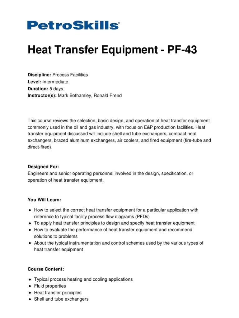 Equipme Compact Heat Exchangers Michaelieclark Process Flow Diagram Exchanger By Design