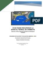 Si Se Puede Recuperar La Bahía El Ferrol