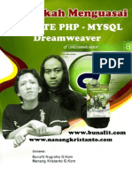 7 Langkah Menguasai Web PHP - MySQL - Dreamweaver