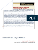 Business Process Analysis Workbook 9 2013 Word