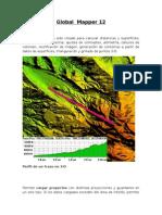 Breve instructivo de Global Mapper