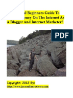 The Official Beginners Guide to Making Money on the Internet