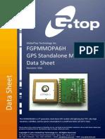 FGPMMOPA6H Datasheet V0A