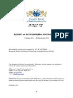 ECAJ Antisemitism Report 2015
