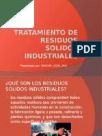 Tratamiento de Residuos Solidos Industriales