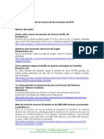 Boletín de Noticias KLR 26NOV2015