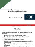 EDU31E5Y - Project Billing Overview