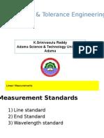 Linear & Angular Measurements