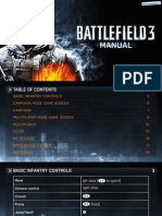 Battlefield 3 - Manual - PS3