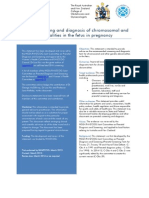 Prenatal screening and diagnosis of chromosomal and genetic abnormalities   (C-Obs 59) March 2015.pdf