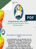 Programación Diocesana Pastoral 2016