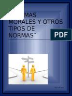 Normas Morales y Otros Tipos de Normas