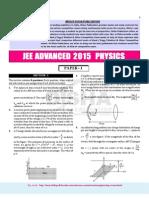 JEE-Advance Physics 2015 Paper(1)