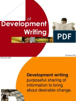 1 Context of Development Writing