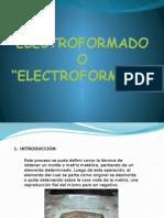 Electroformado