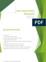 Caso Restaurante Mozarelli