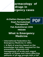 2014Pharmacology in Emergency