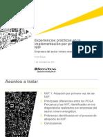 Implementación NIIF (Perú)