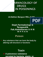 290414 Pharmacology of Drugs in Poisonings