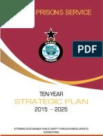 Ghana Prisons Service Ten Year Strategic Development Plan