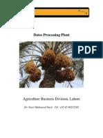 Dates Processingplant