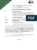 Estructura Del Modelo de Informe Coordinador Validado