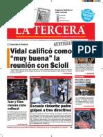 Diario La Tercera 26.11.2015