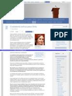 Ciudadania Activa Para Chile