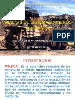 1.Analisis de Sistemas Mineros-