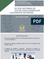 Apresentacao - Aquecedores disponiveis no Brasil