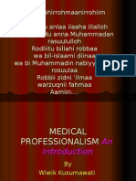 MEDICAL PROFESSIONALISM BLOK 1 '10.ppt