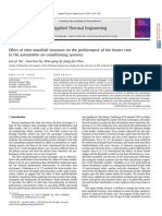 Effect of inlet manifold structure on the performance of the heater core in the automobile air-conditioning systems.pdf