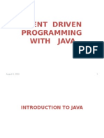 1.Introduction to Java