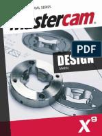 SAMPLE_Mastercam_X9_Design_Training_Tutorial_Metric.pdf