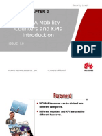 WCDMA Radio Network Mobility Counters and KPIs