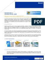 CAPITULO 1 Introduccion a Windows Server 2003