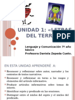 Lenguaje 7º UNIDAD 1